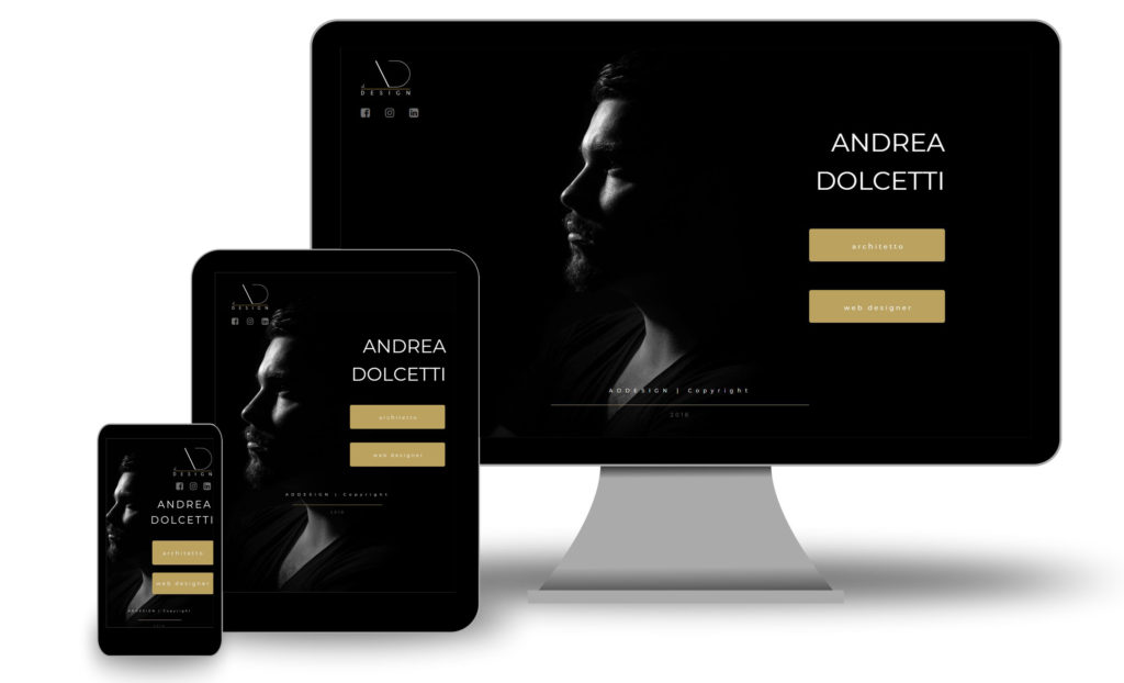 andrea dolcetti design web responsive x - progettiscrivimi - architetto ferrara