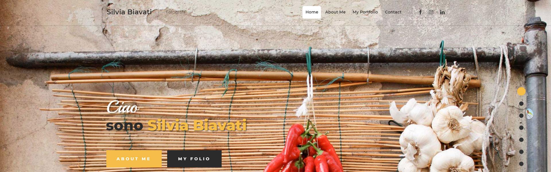 andrea dolcetti design web silvia - progetticontattami - architetto ferrara